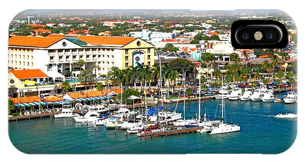 Oranjestad Aruba IPhone Case