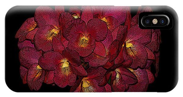 Orchid Floral Arrangement IPhone Case