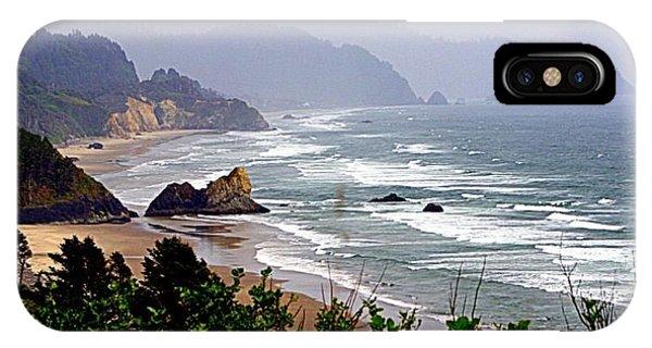 Oregon Coastline IPhone Case