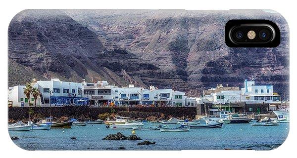 Canary iPhone Case - Orzola - Lanzarote by Joana Kruse