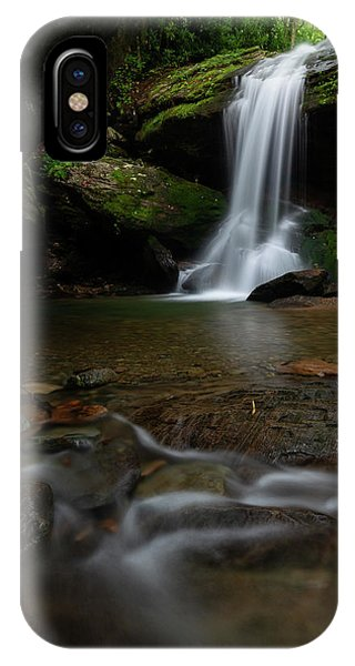 Otter Falls - Seven Devils, North Carolina IPhone Case