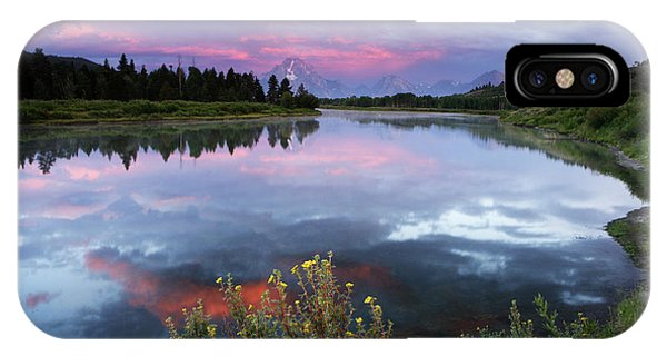 Oxbow Bend IPhone Case