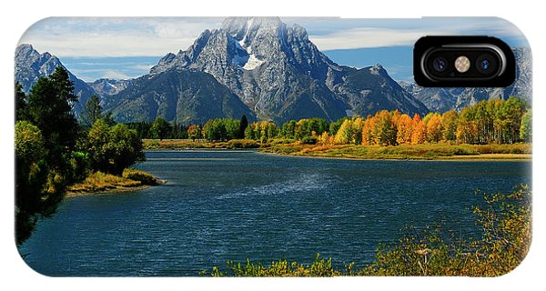 Oxbow Bend In Autumn IPhone Case