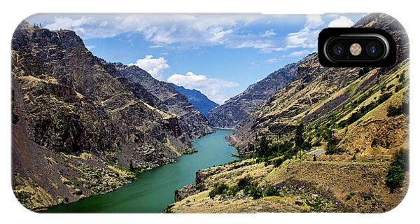 Oxbow Dam Tailwater Idaho Journey Landscape Photography By Kaylyn Franks  IPhone Case