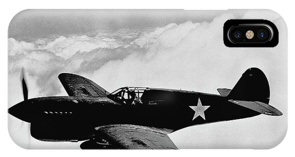 Airplanes iPhone Case - P-40 Warhawk by War Is Hell Store