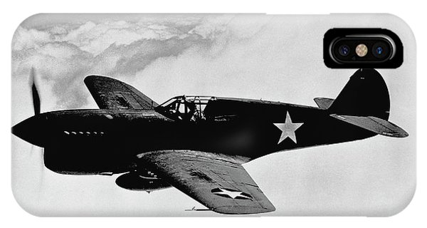 Airplane iPhone Case - P-40 Warhawk by War Is Hell Store