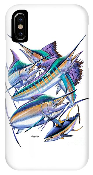 iPhone Case - Pacific Gamefish  by Carey Chen