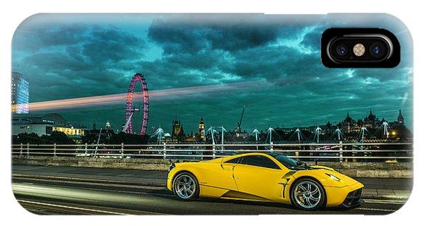Pagani Huayra London IPhone Case