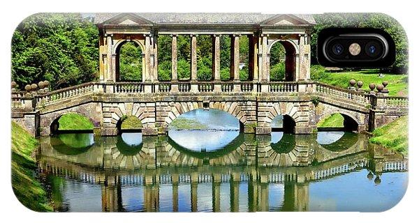 Palladian Bridge Nature Scene IPhone Case