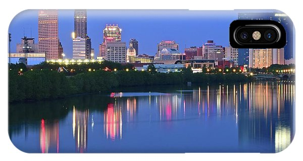 Panoramic Indianapolis IPhone Case
