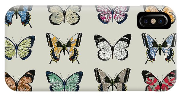 Insect iPhone Case - Papillon by Sarah Hough
