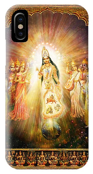 Parashakti Devi - The Great Goddess In Space IPhone Case