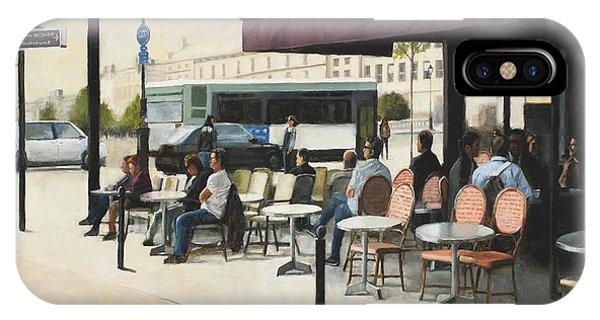 Paris Cafe IPhone Case
