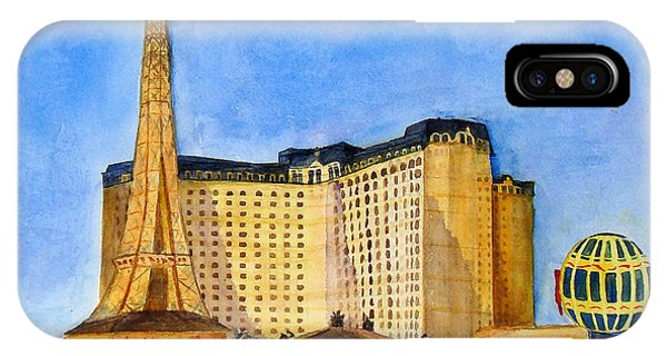 Paris Hotel And Casino IPhone Case