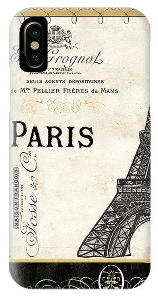 Attraction iPhone Case - Paris Ooh La La 1 by Debbie DeWitt