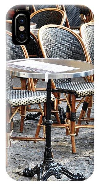 Parisian Cafe Terrace IPhone Case