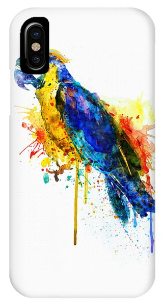 Parrot Watercolor  IPhone Case