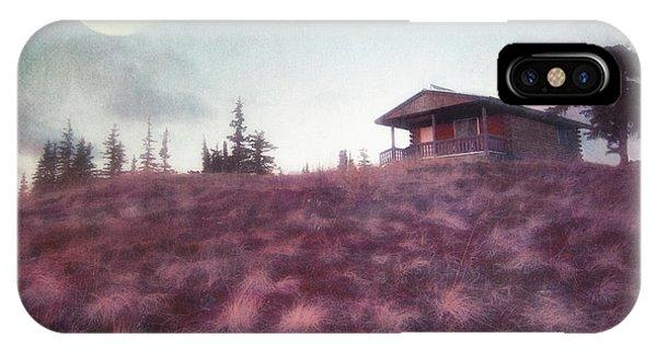 Cabin iPhone Case - Patience by Priska Wettstein