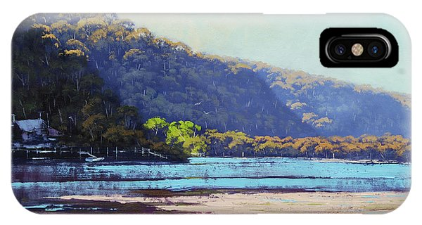 Nature Scene iPhone Case - Patonga Creek by Graham Gercken