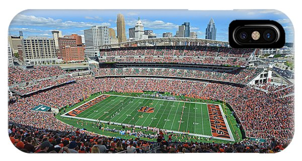 Paul Brown Stadium - Cincinnati Bengals IPhone Case