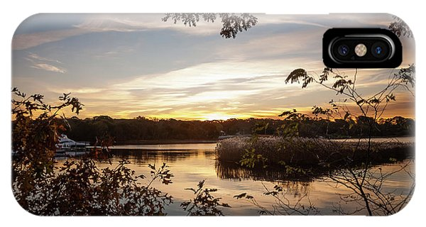 IPhone Case featuring the photograph Pawcatuck River Sunrise by Kirkodd Photography Of New England
