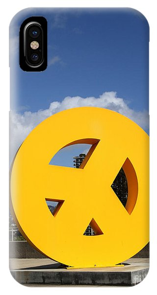 Peace iPhone Case - Peace From The Oakland Museum . Oakland California . 7d13411 by Wingsdomain Art and Photography
