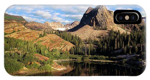 Peaceful Mountain Lake IPhone Case