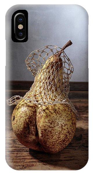 Pear iPhone Case - Pear by Nailia Schwarz