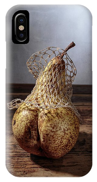 Pear iPhone Case - Pear by Nailia Schwarz