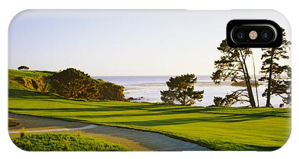 Monterey iPhone Case - Pebble Beach Golf Course, Pebble Beach by Panoramic Images