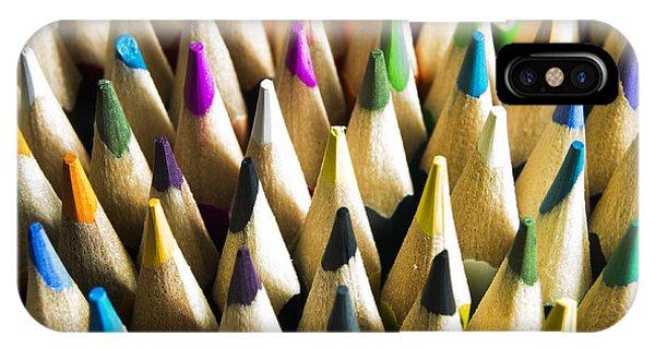 Art And Craft iPhone Case - Pencils by Bernard Jaubert
