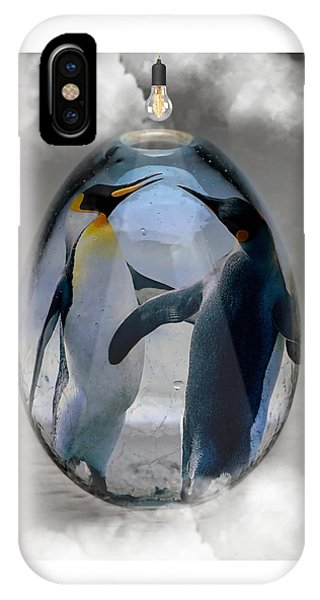 Penguin Art IPhone Case
