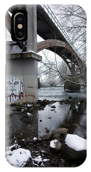 Centennial Bridge iPhone Case - Peoples Park Bridge Spokane River by Daniel Hagerman