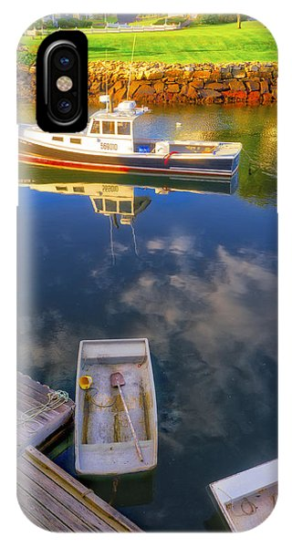 Perkins Cove - Maine IPhone Case