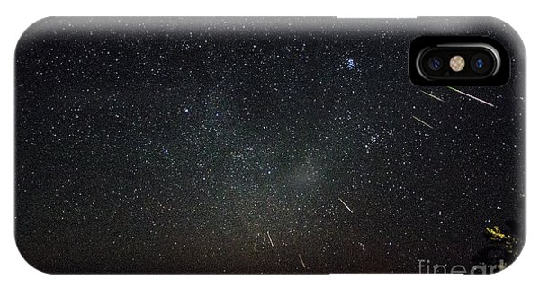 Perseid Meteor Shower IPhone Case