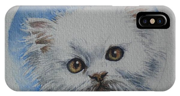 Persian Kitten IPhone Case