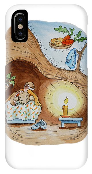 Peter Rabbit And His Dream IPhone Case