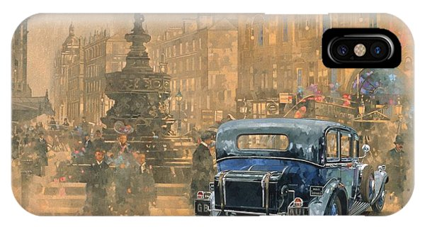 Car iPhone X Case - Phantom In Piccadilly  by Peter Miller