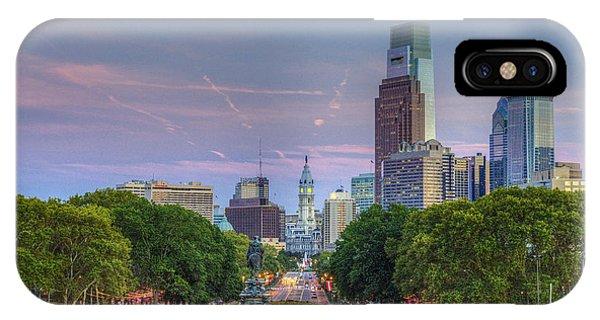 Philadelphia Cityscape IPhone Case