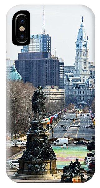 Philadelphia - The Parkway IPhone Case