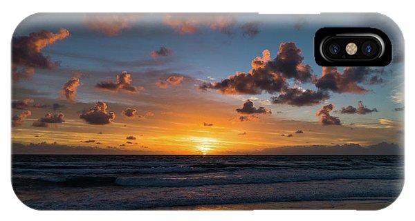 Pink Cloud Sunrise Delray Beach Florida IPhone Case