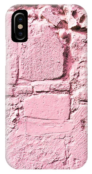 Cement iPhone Case - Pink Wall by Tom Gowanlock