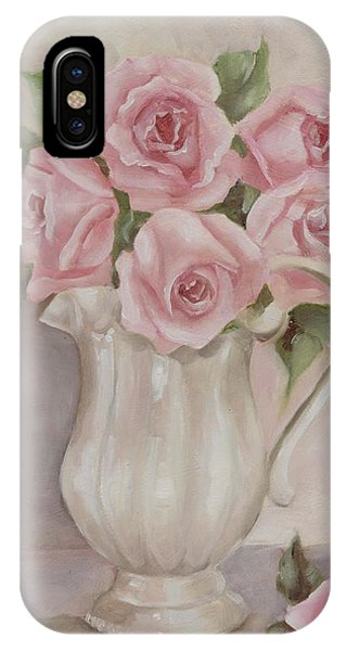 Pitcher Of Roses IPhone Case