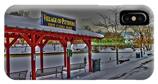 Pittsford Canal Park IPhone Case