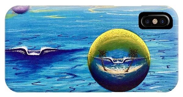 Planet Surf  IPhone Case