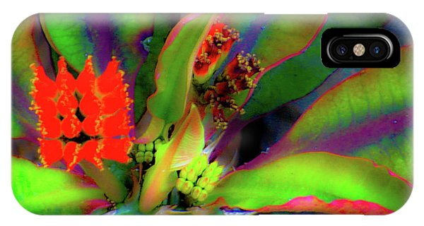Plants And Flowers In Hawaii IPhone Case