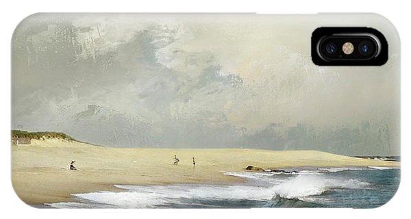 Plum Island Sky IPhone Case
