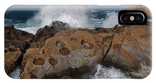 Point Lobos' Concretions IPhone Case