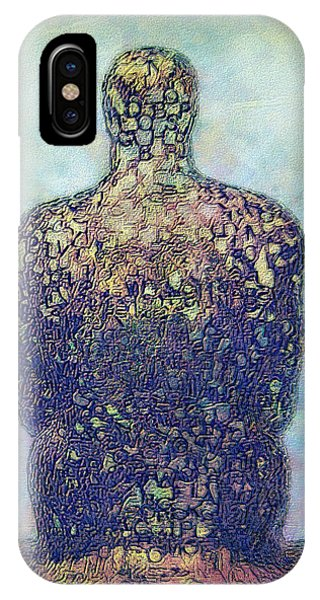 Visual Illusion iPhone Case - Ponder by Jack Zulli