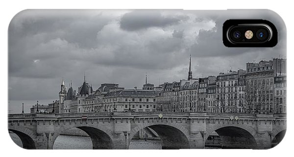 Pont Neuf Paris IPhone Case